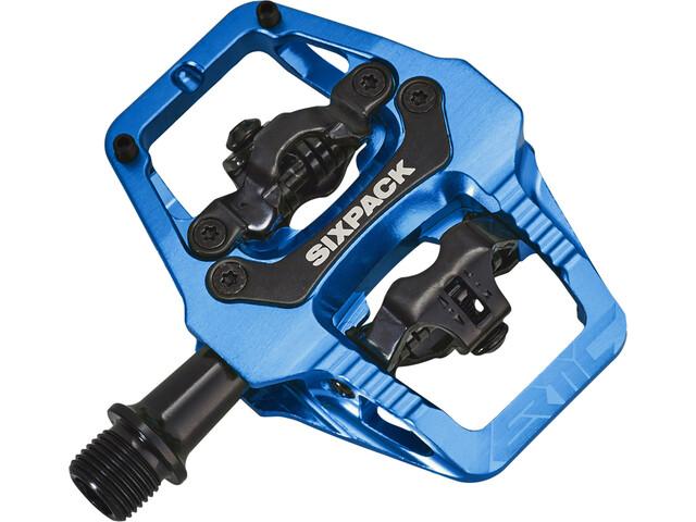 Sixpack Vertic Trail Pedale blue